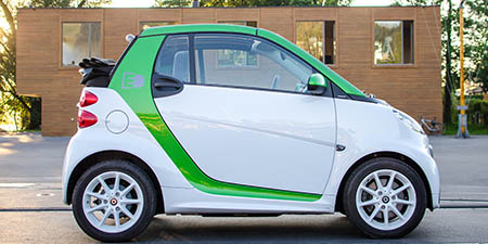 Smart ED Cabrio Sommernachtest