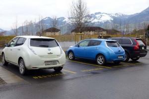 2 von 3 Fahrzeugen sind elektrisch betrieben