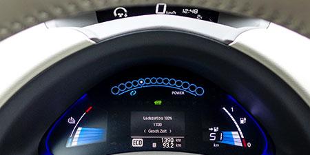 Nissan Leaf – Winterreichweite