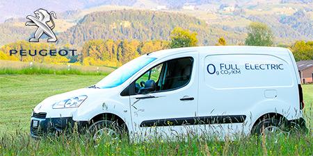 Peugeot Partner Electrique Testbericht