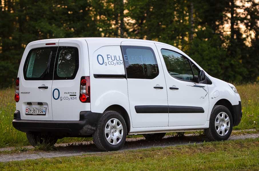 Partner Electrique Peugeot Partner Electrique