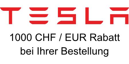 Rabatt auf Tesla