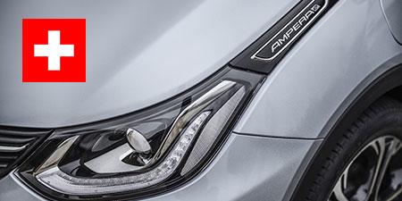 Opel Ampera-e – Verkaufsstart Schweiz