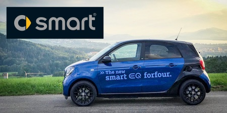smart EQ forfour – Fotos